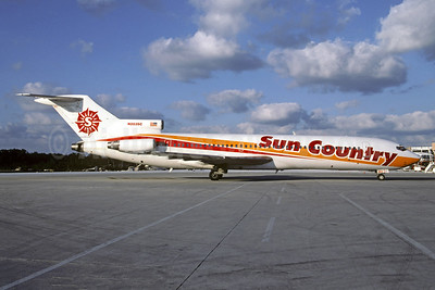 Sun Country Airlines Boeing 727-225 N283SC (msn 22559) CUN (Christian Volpati). Image: 946526.