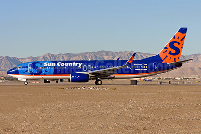 Sun Country Airlines Boeing 737-8FH SSWL N820SY (msn 39951) LAS (Gunter Mayer). Image: 953341.