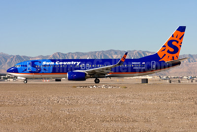 Sun Country Airlines Boeing 737-85P WL N823SY (msn 33971) LAS (Gunter Mayer). Image: 953342.
