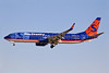 Sun Country Airlines Boeing 737-8BK WL N807SY (msn 33016) LAS (Keith Burton). Image: 901089.