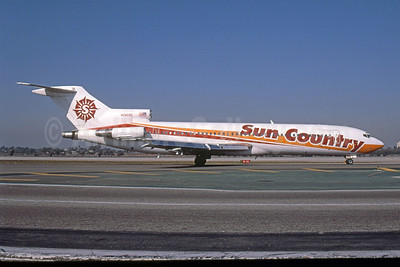 Sun Country Airlines Boeing 727-225 N282SC (msn 22558) LAX (Rob Rindt). Image: 923312.