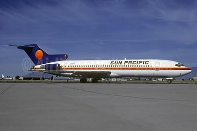 Sun Pacific International Boeing 727-227 N79771 (msn 20840) TUS (Christian Volpati Collection). Image: 936622.