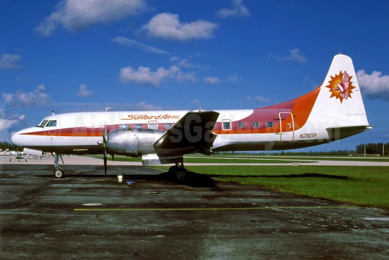 Sunbird Air (Florida) Convair 440-75 N26DR (msn 351) TMB (Keith Armes). Image: 909574.