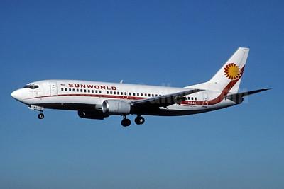 Sunworld International Airways (1st) Boeing 737-3Q8 N841L (msn 23255) LAS (Jay Selman). Image: 402250.
