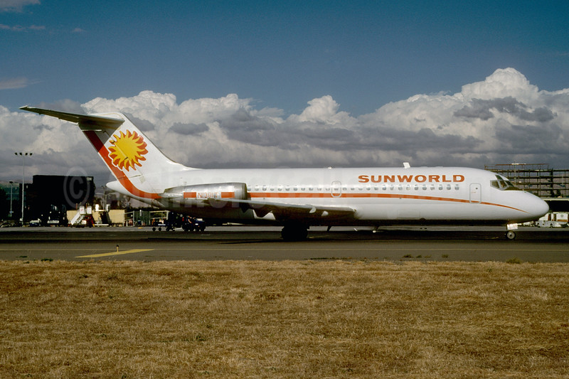 Sunworld International Airways (1st) Douglas DC-9-14 N1301T (msn 45695) TUS (Thomas Livesey). Image: 921719.