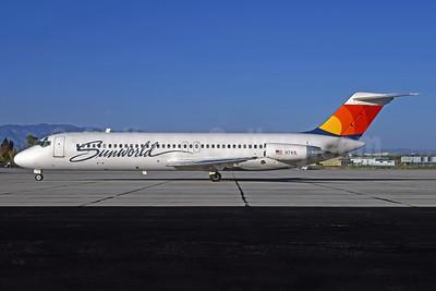 Sunworld International Airways (1st) Douglas DC-9-31 N741L (msn 47418) TUS (Robert Drum). Image: 103289.