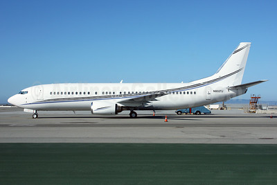 Swift Air (2nd) (USA) Boeing 737-4B7 N802TJ (msn 24874) SFO (Mark Durbin). Image: 913276.