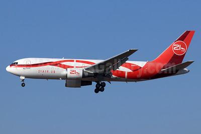 21 Air (21air.us) Boeing 767-241F ER N881YV (msn 23803) LAX (Michael B. Ing). Image: 948179.