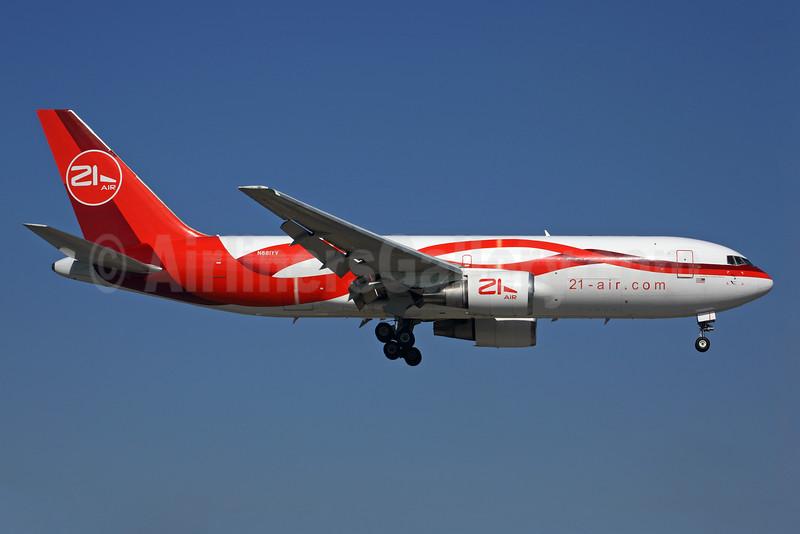 21 Air (21-air.com) (Dynamic Airways) Boeing 767-241F ER N881YV (msn 23803) MIA (Rob Finlayson). Image: 925501.