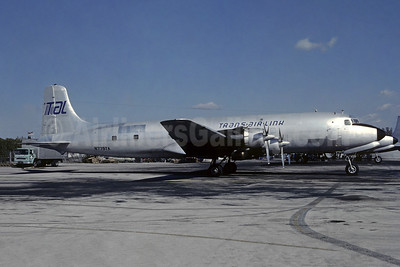 Trans-Air-Link - TAL Douglas DC-6A N779TA (msn 45529) MIA (Bruce Drum). Image: 105452.