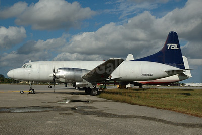 TAL (Trans-Air-Link) Convair 580 N583HG (msn 65) OPF (Bruce Drum). Image: 100663.