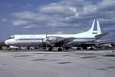 TPI International Airways Lockheed 188C (F) Electra  N359AC (N359Q) (msn 2002) MIA (Bruce Drum). Image: 105362.