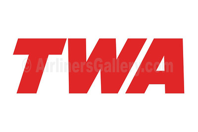 1. TWA - Trans World Airlines logo