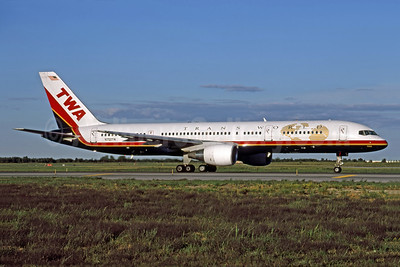 TWA-Trans World Airlines Boeing 757-2Q8 N702TW (msn 28162) JFK (Rob Rindt Collection). Image: 955157.