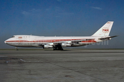 TWA (Trans World Airlines) Boeing 747-131 N93105 (msn 19671) CDG (Michel Gilliand - Bruce Drum Collection). Image: 947041.