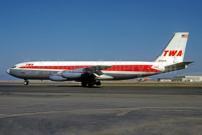 Airline Color Scheme - Introduced 1958 (707 Delivery)