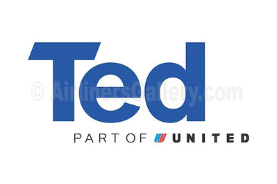 1. Ted (United Airlines) logo