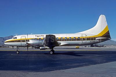 TigerAir (USA) Convair 580 N26KA (msn 49) LAS (Christian Volpati Collection). Image: 944149.
