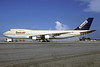Tower Air Boeing 747-124 N602FF (msn 19734) (Saudia colors) MIA (Christian Volpati Collection). Image: 911763.