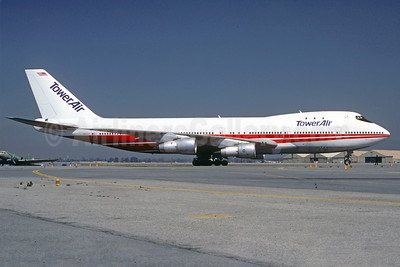 Tower Air Boeing 747-131 N93117 (msn 20322) (TWA colors) ONT (Christian Volpati Collection). Image: 911764.