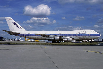 Tower Air Boeing 747-121 N731PA (msn 19637) (Pan Am colors) ORY (Christian Volpati Collection). Image: 911762.