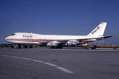 Leased to QANTAS Airways on November 1, 1987