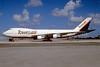 Tower Air Boeing 747-136 N606FF (msn 20273) MIA (Bruce Drum). Image: 102757.