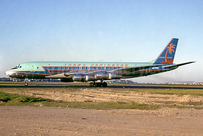 Trans Caribbean Airways McDonnell Douglas DC-8F-55 Jet Trader N8785R (msn 45803) BOS (Jacques Guillem Collection). Image: 937407.
