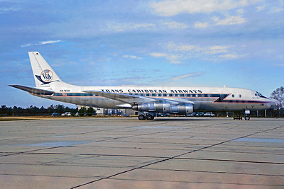 Trans Caribbean Airways McDonnell Douglas DC-8-51 N8780R (msn 45628) (Jacques Guillem Collection). Image: 937409.