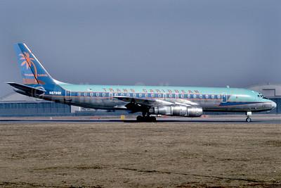 Trans Caribbean Airways McDonnell Douglas DC-8F-55 Jet Trader N8785R (msn 45803) JFK (Bruce Drum). Image: 102448.