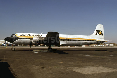 Trans Continental Airlines-TCA (1st) Douglas DC-6A N45001 (msn 43841) JFK (Fred Freketic). Image: 945367.