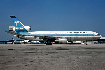Trans International Airlines (1st) McDonnell Douglas DC-10-30CF N101TV (msn 46800) ORY (Christian Volpati). Image: 908716.