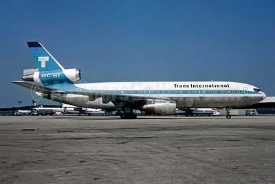 Trans International Airlines (1st) McDonnell Douglas DC-10-30CF N101TV (msn 46800) ORY (Christian Volpati). Image: 908716.