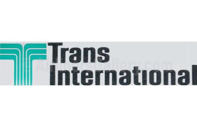 1. Trans International Airlines (1st) logo