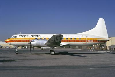 Trans Sierra Airlines (1st) Convair 340-32 N3416 (msn 47) BUR (Ted J. Gibson - Bruce Drum Collection). Image: 948213.