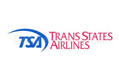 1. Trans States Airlines-TSA logo
