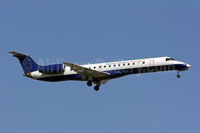 Trans States Airlines Embraer ERJ 145LR (EMB-145LR) N829HK (msn 145281) (United Express colors) IAD (Brian McDonough). Image: 906906.