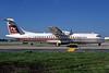 Trans World Express-TW Express-Trans States Airlines-TSA ATR 72-202 N721TE (msn 217) STL (Bruce Drum). Image: 102638.