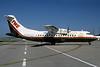 Trans World Express-TWE-Trans States Airlines-TSA ATR 42-300 N424TE (msn 124) STL (Bruce Drum). Image: 102637.