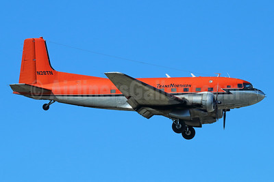 TransNorthern Aviation Douglas C-117D (Super DC-3) N28TN (msn 43354) ANC (Michael B. Ing). Image: 938171.