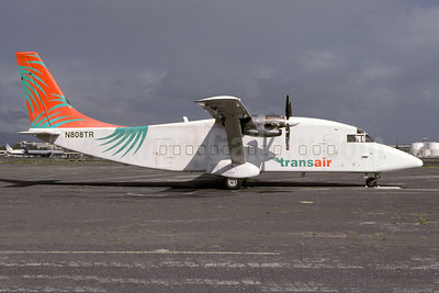 Transair (Hawaii) Shorts SD3-60 (F) N808TR (msn SH.3718) HNL (Christian Volpati Collection). Image: 942507.