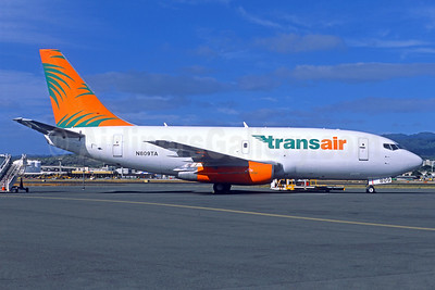 Transair (Hawaii) Boeing 737-209 (F) N809TA (msn 23796) HNL (Jacques Guillem Collection). Image: 932174.