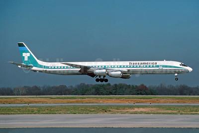 Transamerica Airlines McDonnell Douglas DC-8-73CF N4869T (msn 46117) JFK (Jay Selman). Image: 403951.