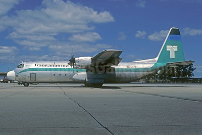 Transamerica Airlines Lockheed 382G Hercules (L-100-30) N37ST (msn 4248) (Christian Volpati Collection). Image: 925632.