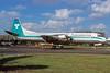 Transamerica Airlines Lockheed 188C (F) Electra N858U (msn 2015) MIA (Bruce Drum). Image: 103827.
