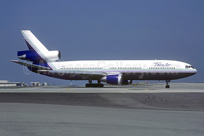 Transtar Airlines (2nd) McDonnell Douglas DC-10-10 N102UA (msn 46905) LAX (Jacques Guillem Collection). Image: 948454.