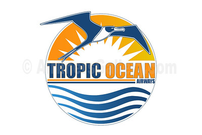 1. Tropic Ocean Airways logo