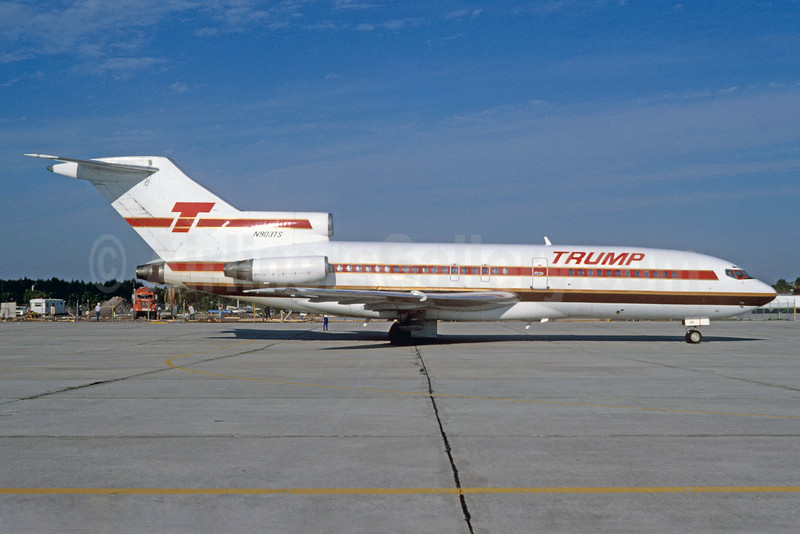Trump Shuttle Boeing 727-25 N903TS (msn 18272) MCO (Denis Goodwin - Bruce Drum Collection). Image: 922091.