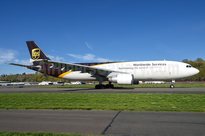 UPS Airlines (UPS-Worldwide Services) Airbus A300F4-622R N158UP (msn 847) BFI (Steve Bailey). Image: 936643.