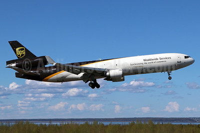 UPS Airlines (UPS-Worldwide Services) McDonnell Douglas MD-11 (F) N250UP (msn 48745) ANC (Michael B. Ing). Image: 938195.
